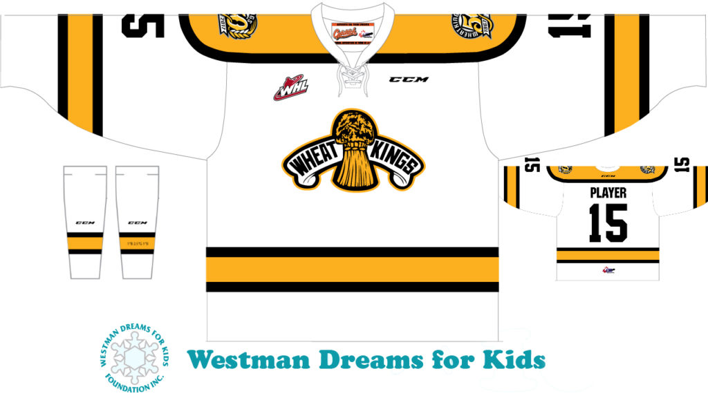 WHEAT KINGS UNVEIL PLANS FOR 60'S STYLE JERSEY – Brandon Wheat Kings