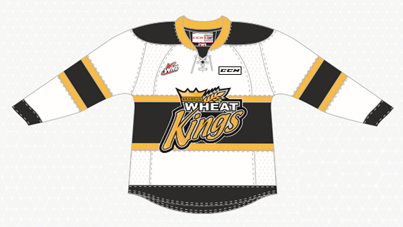 WHEAT KINGS UNVEIL NEW HOME JERSEYS FOR 2017-18 – Brandon Wheat Kings