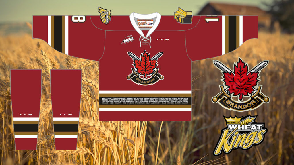 WHEAT KINGS UNVEIL PLANS FOR CANADA JERSEY IN SUPPORT OF WESTERN ...