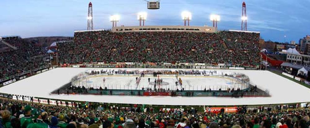 Calgary Hitmen Vs Regina Pats Outdoor Game Calgary Hitmen