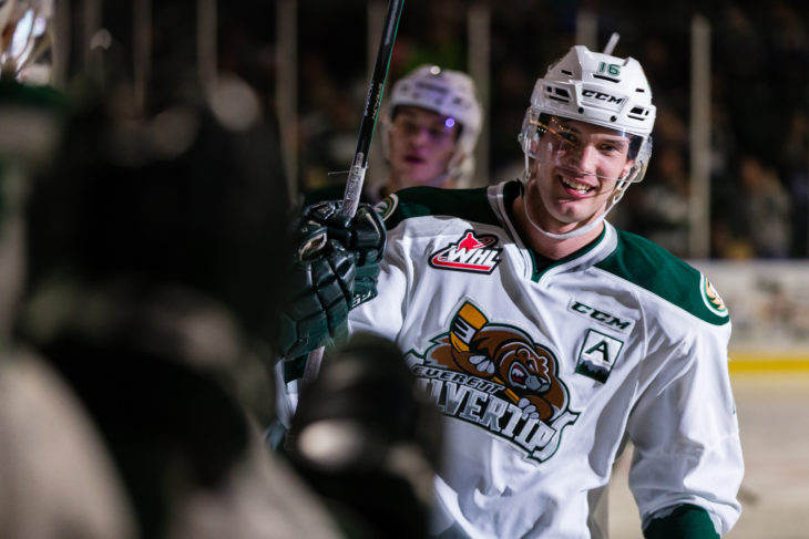 EVERETT, WASHINGTON - MARCH 8: (Photo by Christopher Mast/Everett Silvertips)
