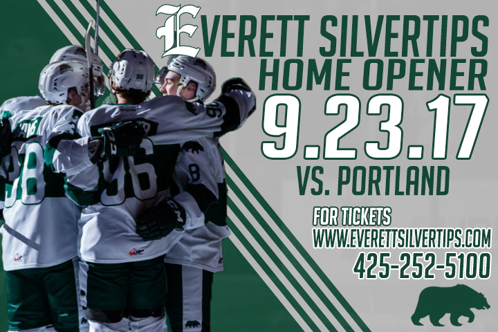 Silvertips Home Opener.AS