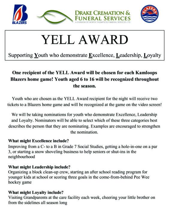YELL Award Application1 copy