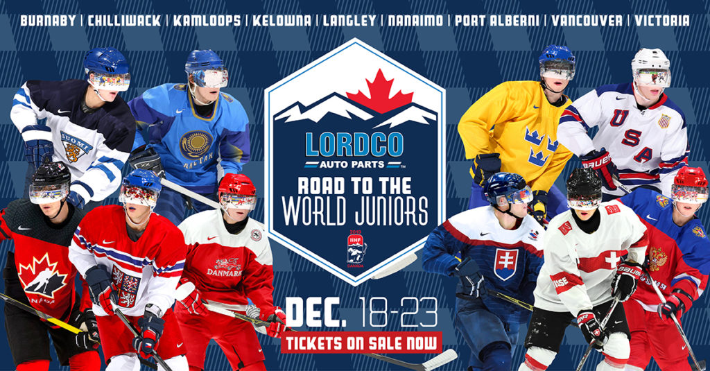 Kelowna To Host 2019 Iihf World Junior Championship Pre Tournament