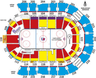 Spokane Arena Map (Sept. 2018)