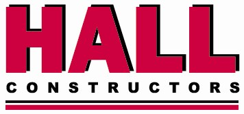Hall Constructors Logo Pantone 199C (underlined)