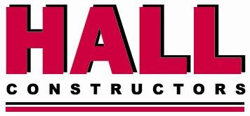 Hall Constructors Logo Pantone 199C (underlined)