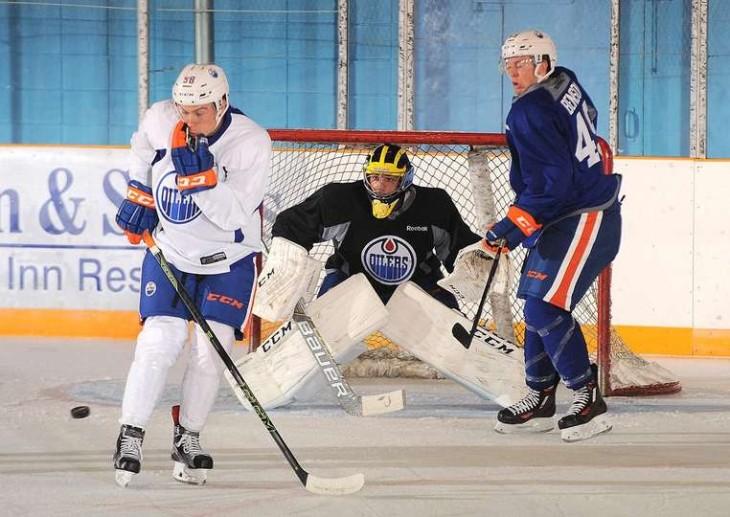 Benson Oilers Credit Andy Devlin - Edmonton Oilers2