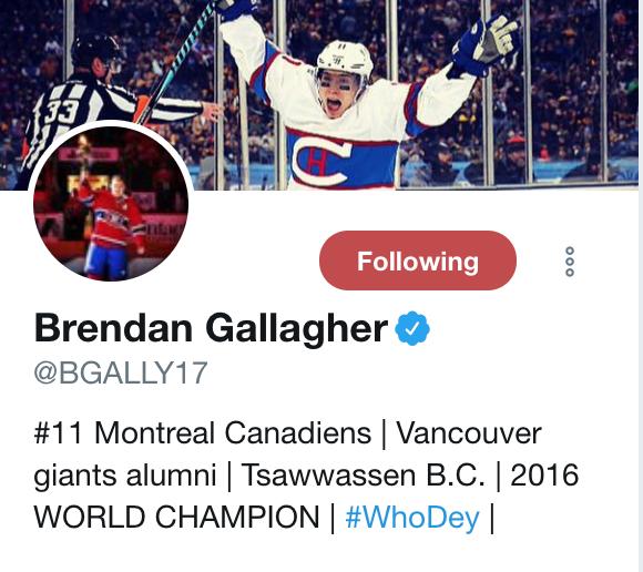 Gallagher Twitter