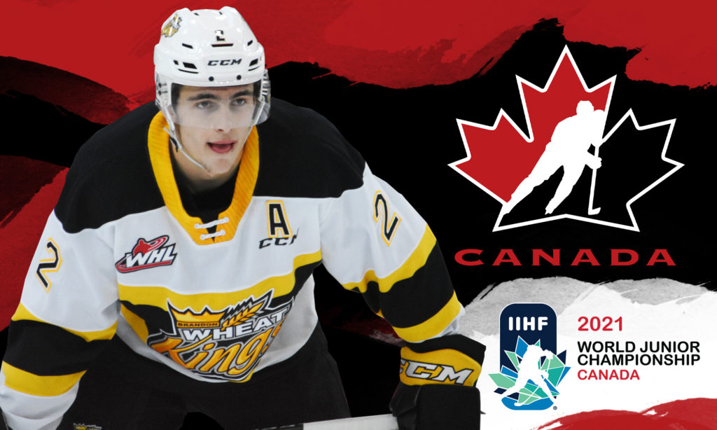 Schneider Makes Team Canada Roster For 2021 Iihf World Junior Championship Brandon Wheat Kings