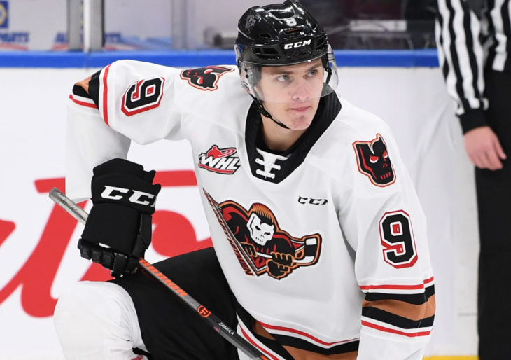 Egor Zamula has 91 career points in 147 career WHL games