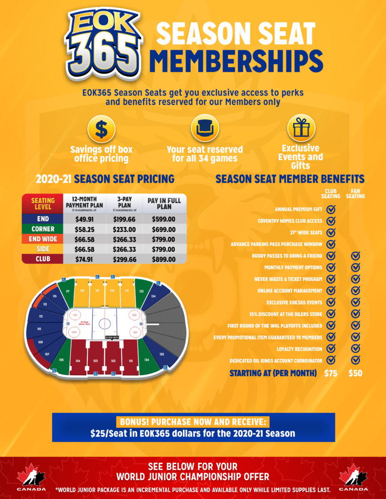 2020-21 EOK365 Season Seats Flyer
