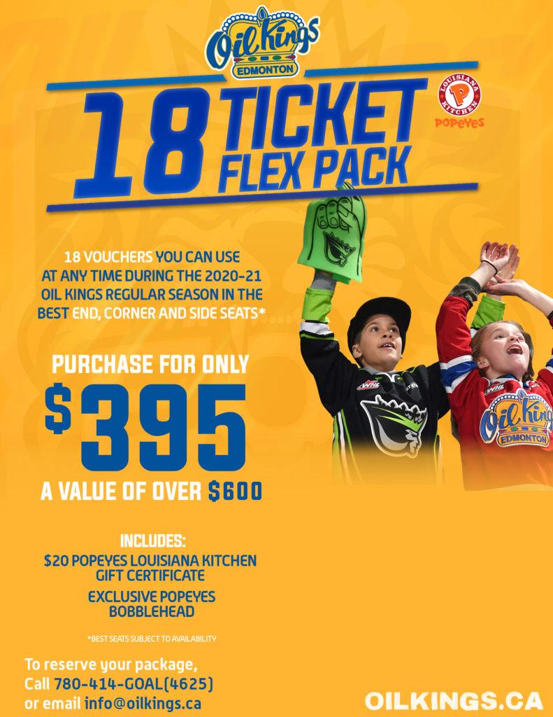 2020-21 Renewals - 18 Ticket Flex Pack