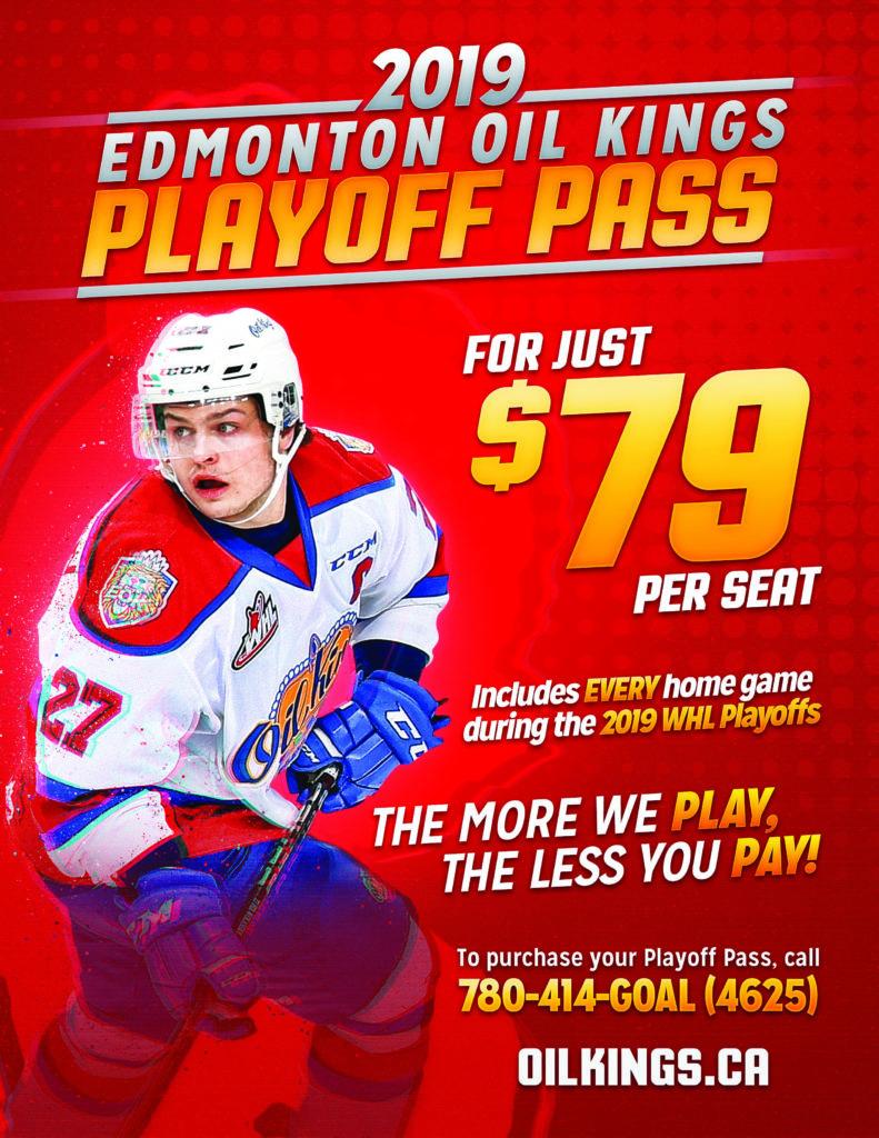 2019 WHL Playoff Pass Flyer - 8x11