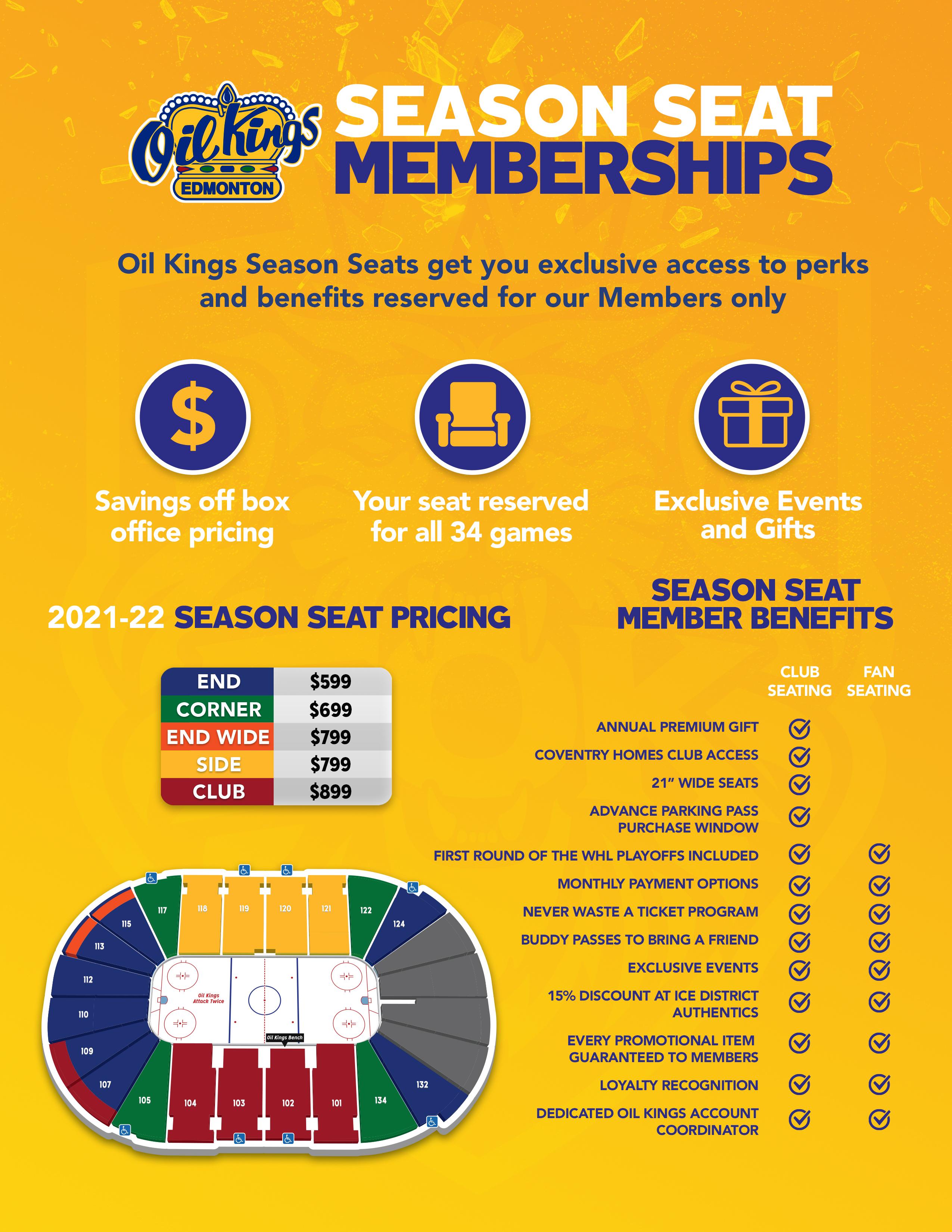 2021-22 EOK Season Ticket Flyer (Yellow)
