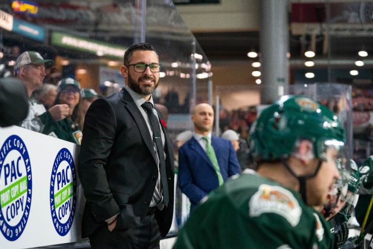 Dennis Williams led the Tips to a 96 point campaign, 2nd most in the entire WHL. (Photo: Chris Mast / Everett Silvertips)