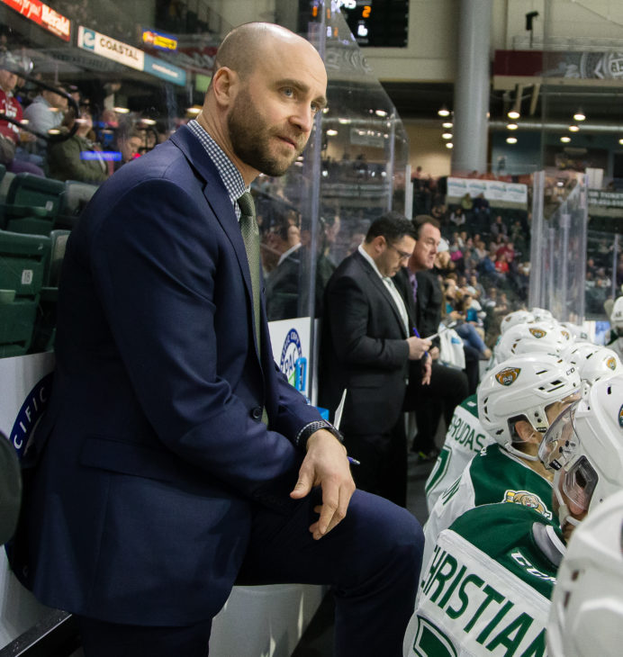 Entering his 4th season o the Silvertips coaching staff, Louis Mass helped engineer the top penalty kill in the WHL last season, and has helped 5 Silvertips defensemen develop into NHL Draft picks,  or sign 3-year entry level contracts.