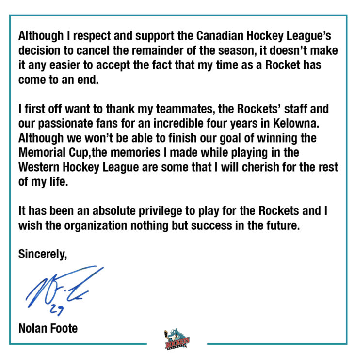 nolan foote insta message