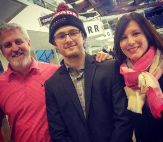 Peter, Owen Blocker, and Shannon