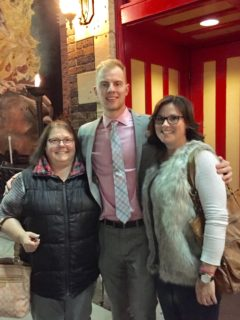 Irene, Nick, and Jess in Rapid City, South Dakota