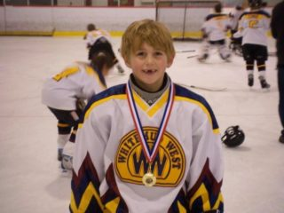 Baker playing for Whitemud West