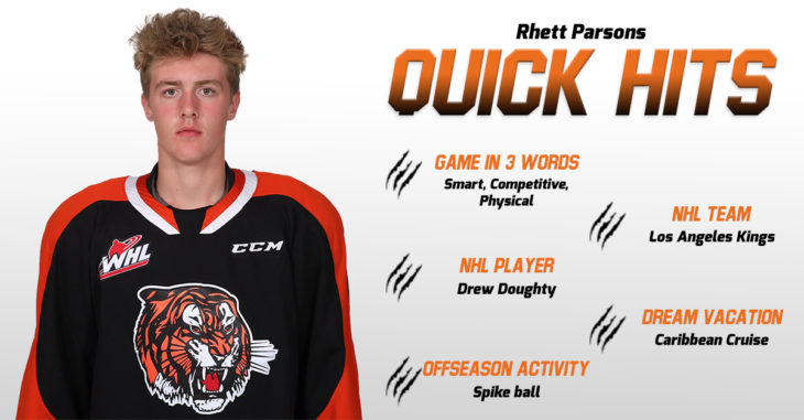 Quick Hits - Rhett Parsons