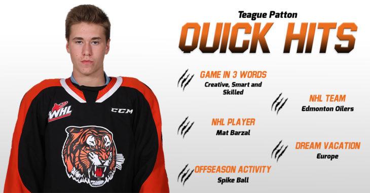 Quick Hits - Teague Patton