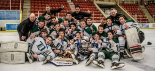 Hopwo, Svejkovsky and their team won the John Reid Bantam Tournament in St. Albert in 2015.