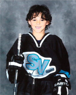 Nick played for the Simon Valley Minor Hockey Association