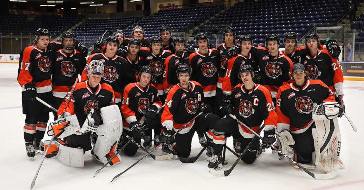 Team pic on ice
