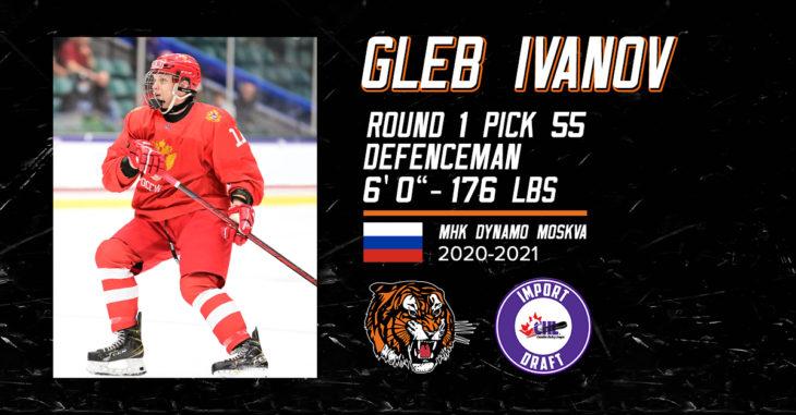 Gleb Ivanov Drafted