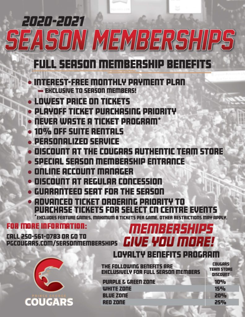 20-21 Season Member Flyer-Back