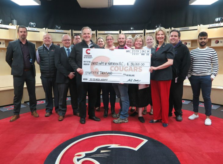 United Way Group Cheque