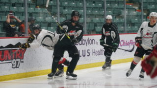 Action from the Prospects Showcase