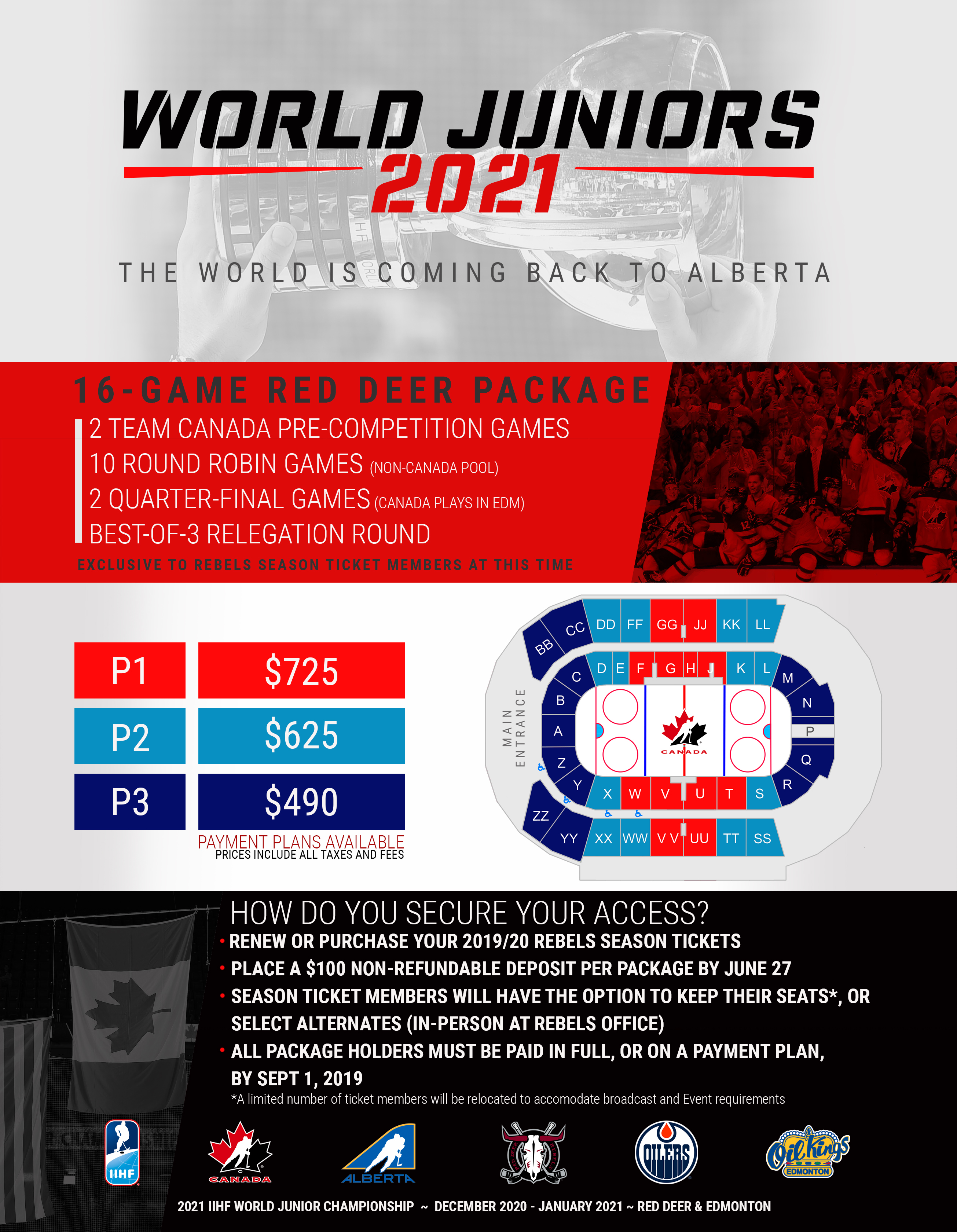 2021 World Juniors Red Deer Rebels
