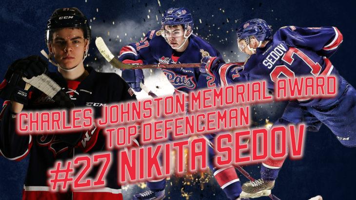 Top Defenseman- Sedov