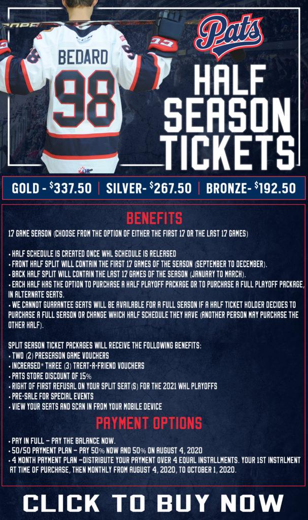 Front Back Season Tickets Flyer