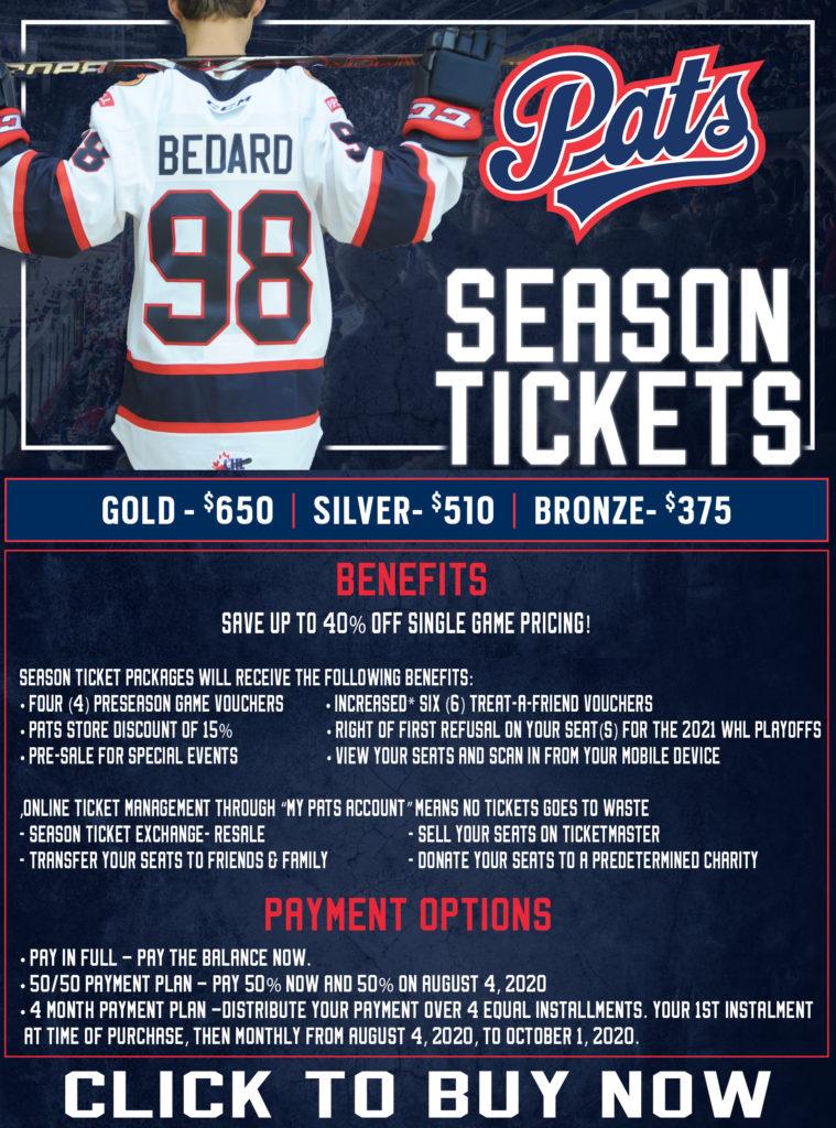 Full Season Tickets Flyer