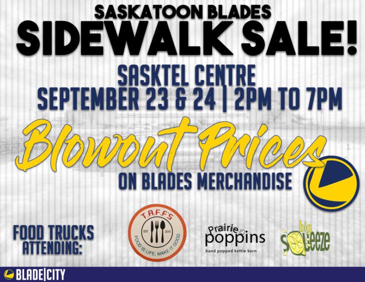 Blades Sidewalk Sale