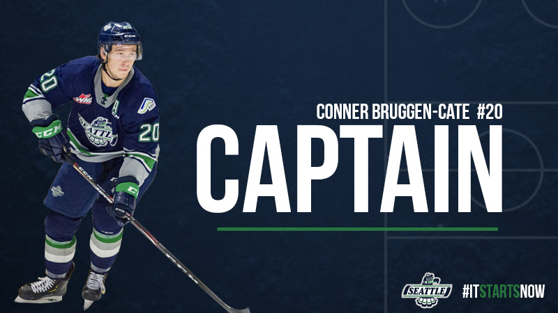 Conner Bruggen-Cate Named Team Captain – Seattle Thunderbirds