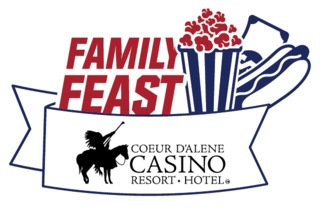Family Feast Logo CDA CASINO