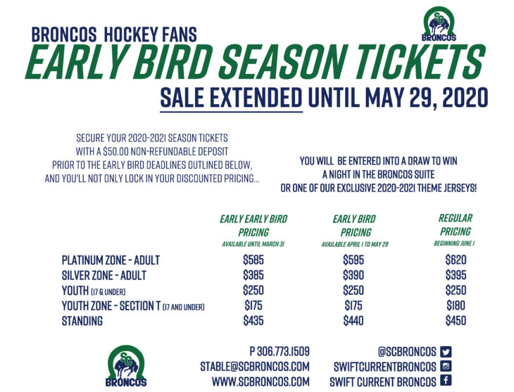 2020-2021 Season Tickets - Ad - Available Now - Extended