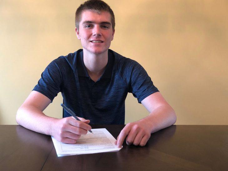 Sloan Jake signing