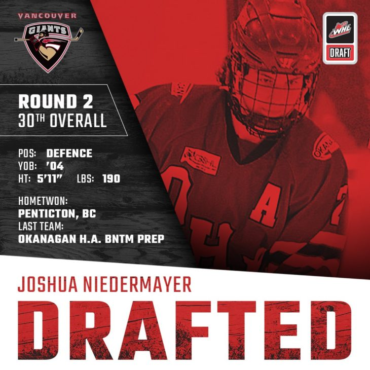 NIEDERMAYER DRAFTED