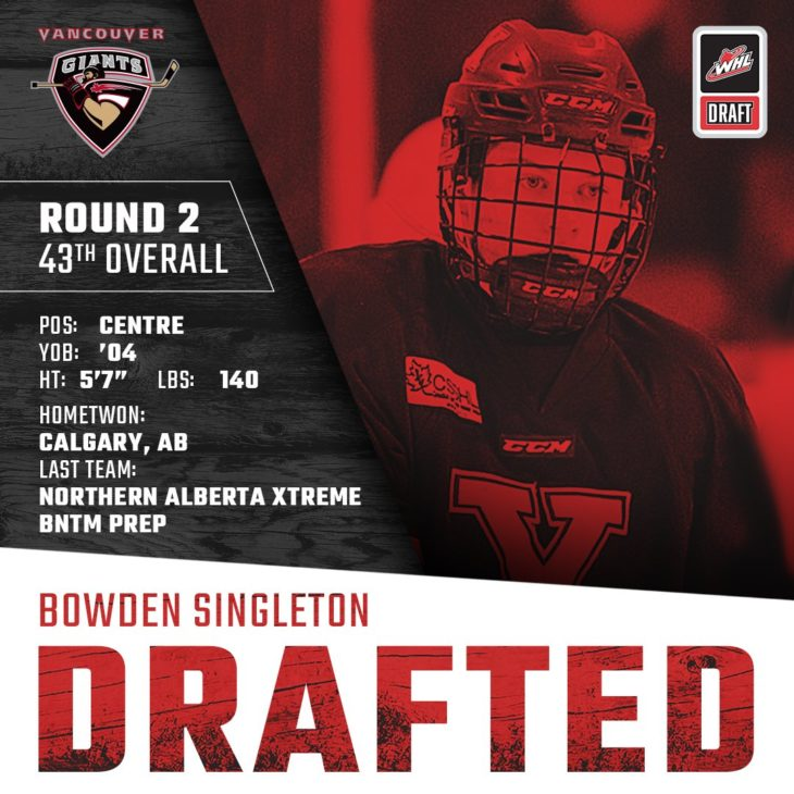 SINGLETON DRAFTED
