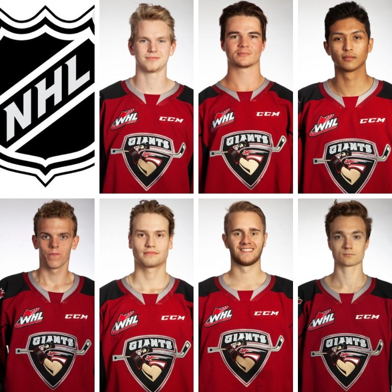 Seven Vancouver Giants To Attend Nhl Training Camps