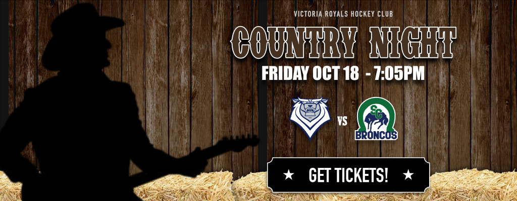 Victoria Royals Country Night