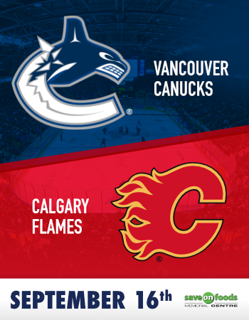 Canucks Vs Flames Pre Season Game Victoria Royals