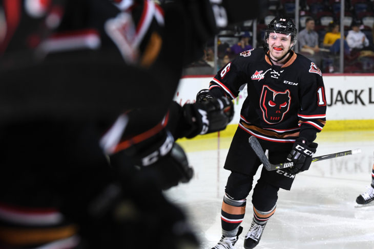 Jake Kryski will join his hometown UBC Thunderbirds in 2019-20. Photo: Candice Ward/Calgary Hitmen