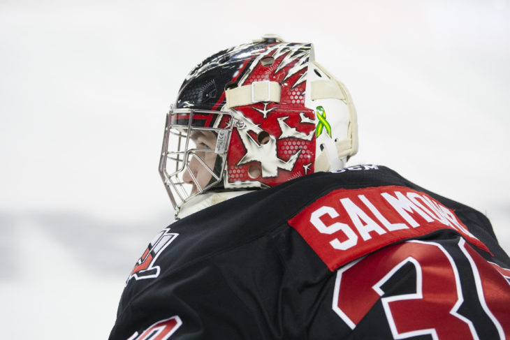 Brodan Salmond will join the University of Calgary Dinos this season. Photo: Robert Murray/WHL